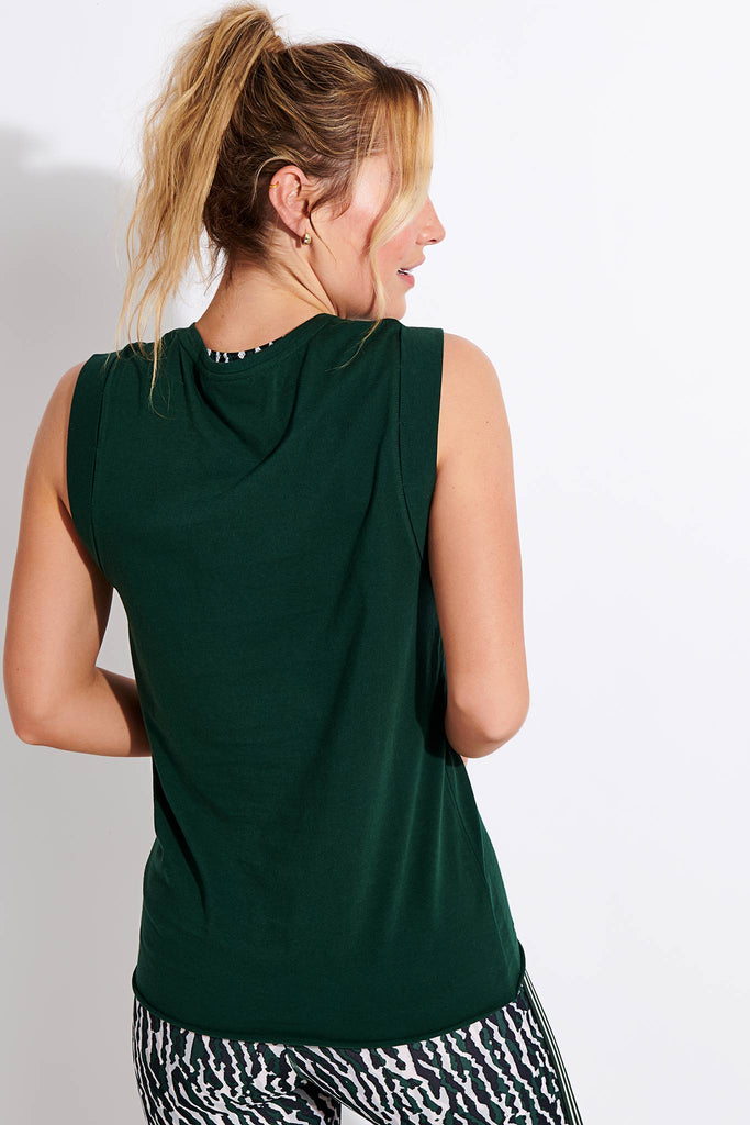 Muscle Tank - British Green