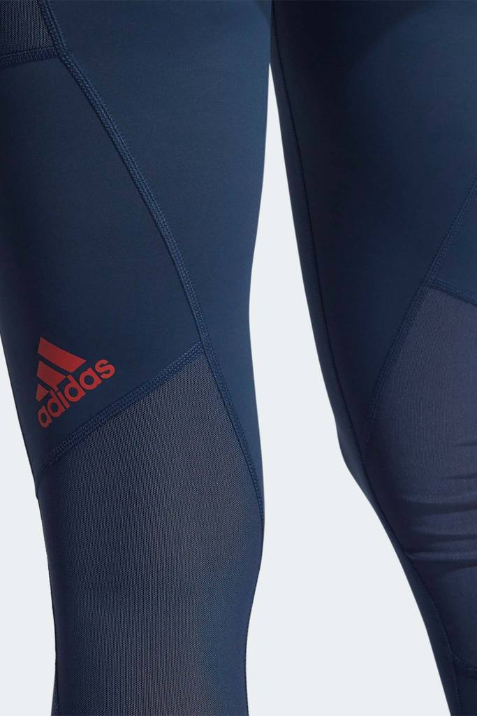 Techfit Badge of Sport Tights - Crew Navy/Crew Red