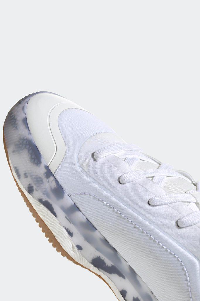 Treino Shoes - White/Black/Orange