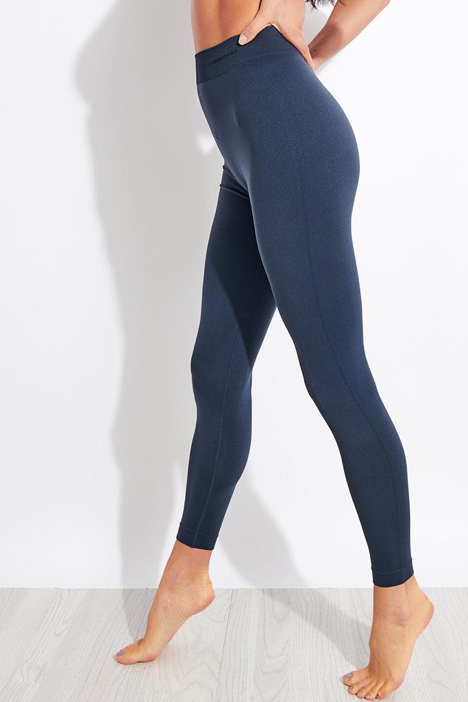 Organic Basics Active Leggings - Dusty Blue