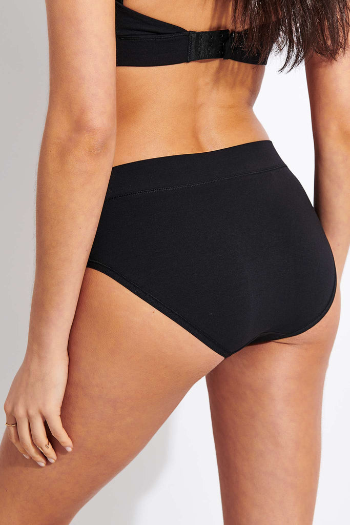 Organic Cotton Briefs 2-pack - Black