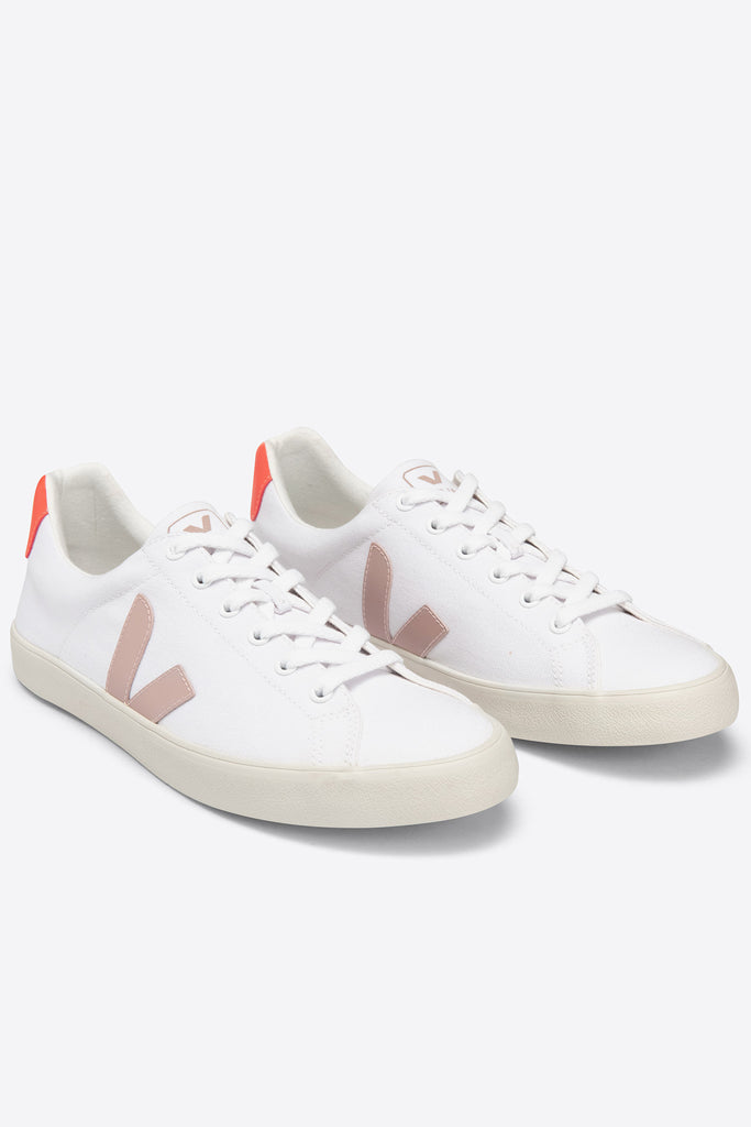 Esplar SE Canvas - White Babe Orange-Fluo | Women's