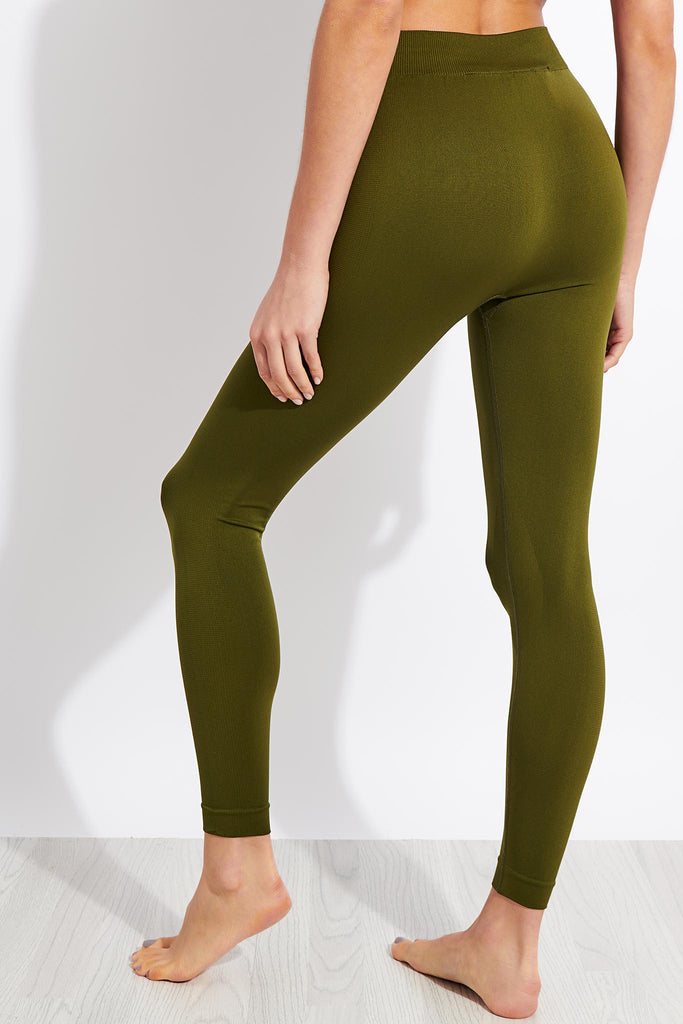 Active Leggings - Olive