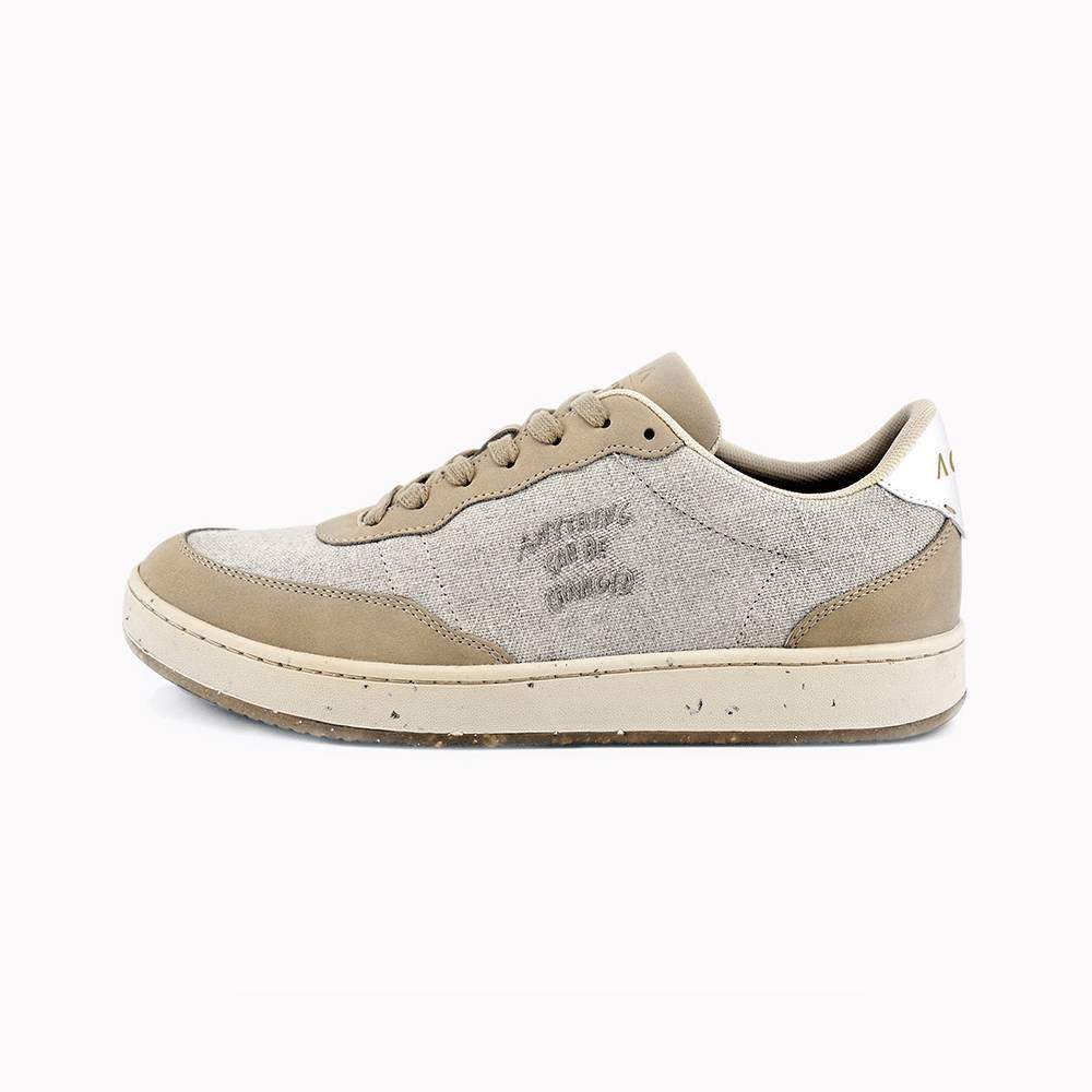 Evergreen Beige Natural Linen Skin - Sneakers