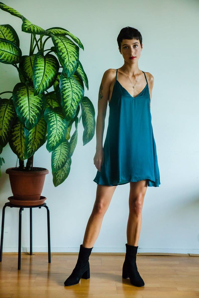 Lea Slip Silk Dress