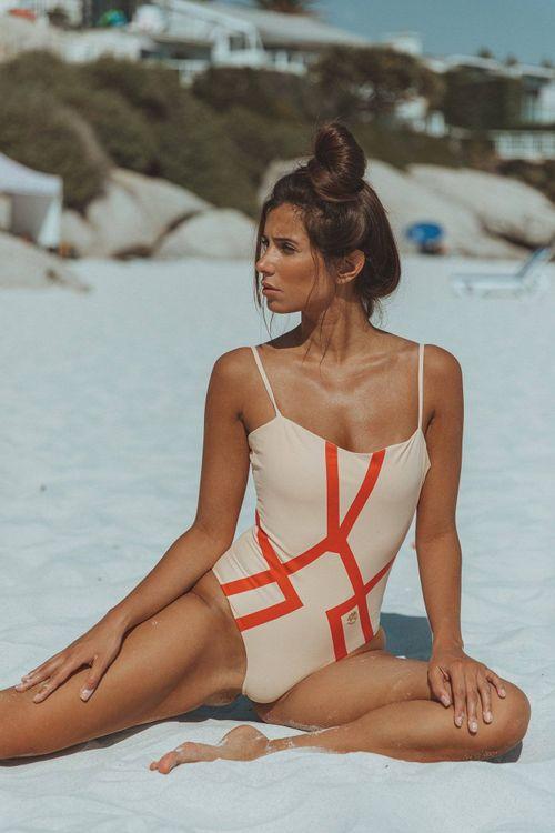 Amélie Swimsuit Delicate Red