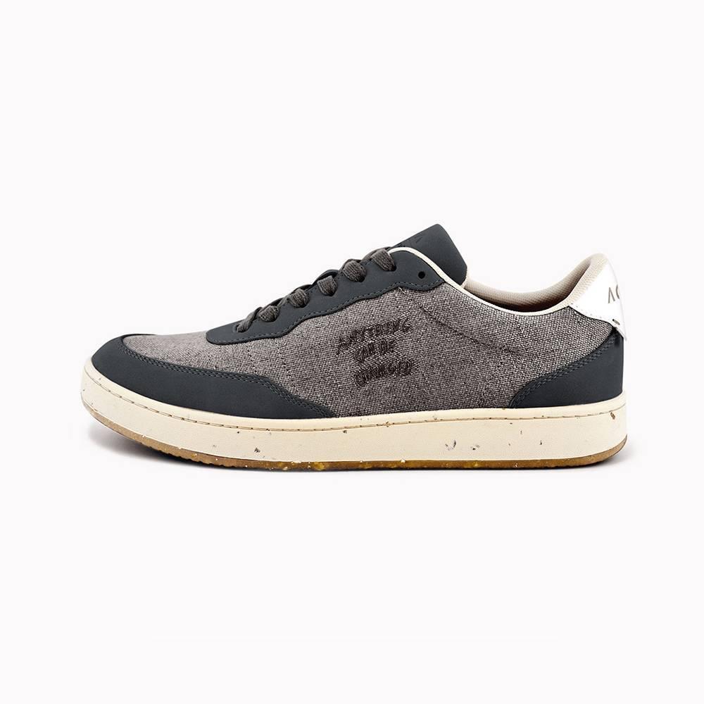 Evergreen Black Natural Linen Skin - Sneakers