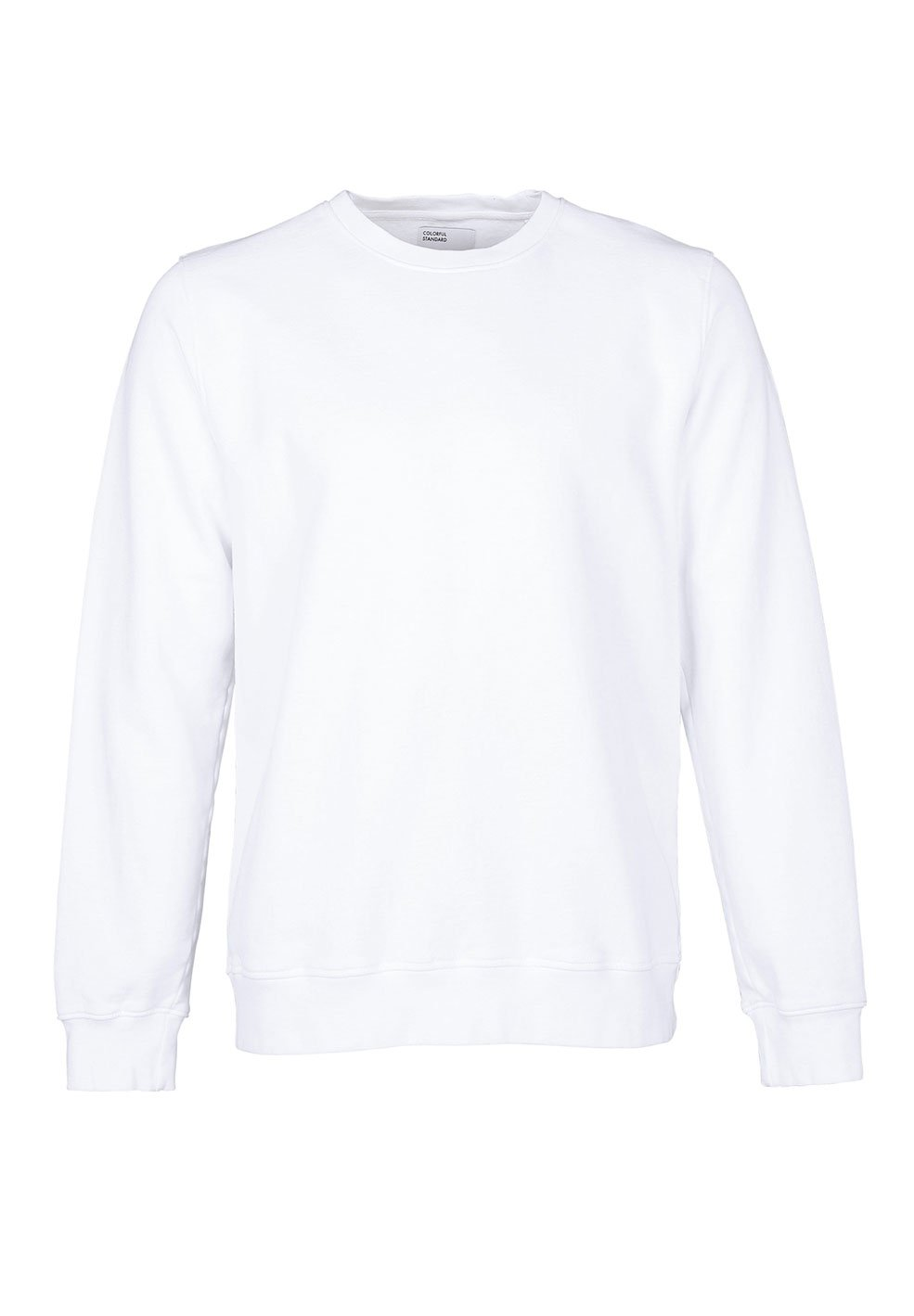 Colorful Standard COLORFUL STANDARD classic organic crew neck sweater optical white (unisex)