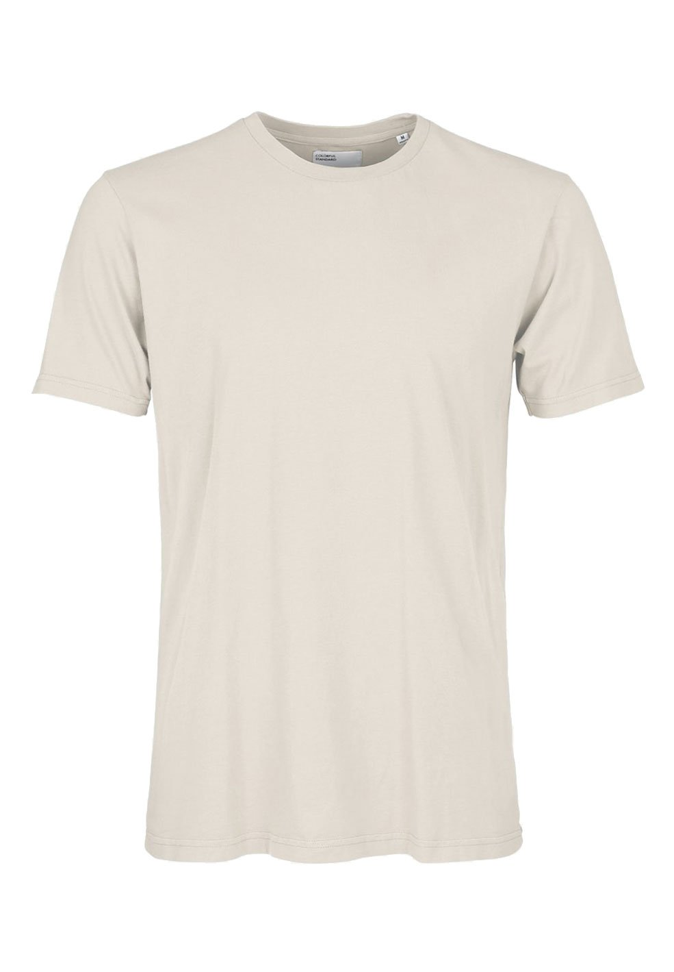 Colorful Standard COLORFUL STANDARD classic organic cotton tee shirt round neck ivory white (unisex)