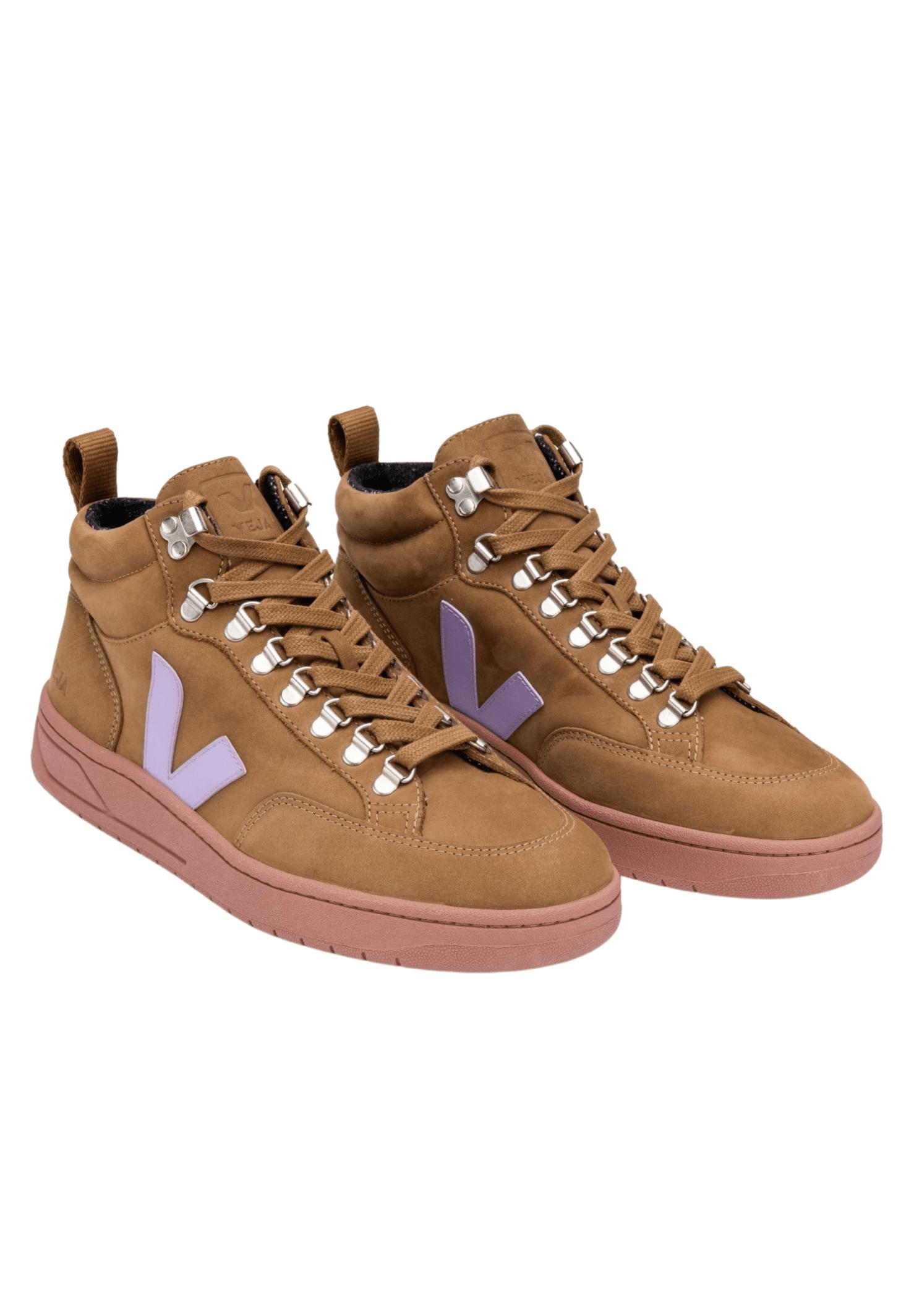 Roraima High Top Sneaker Brown Lavender