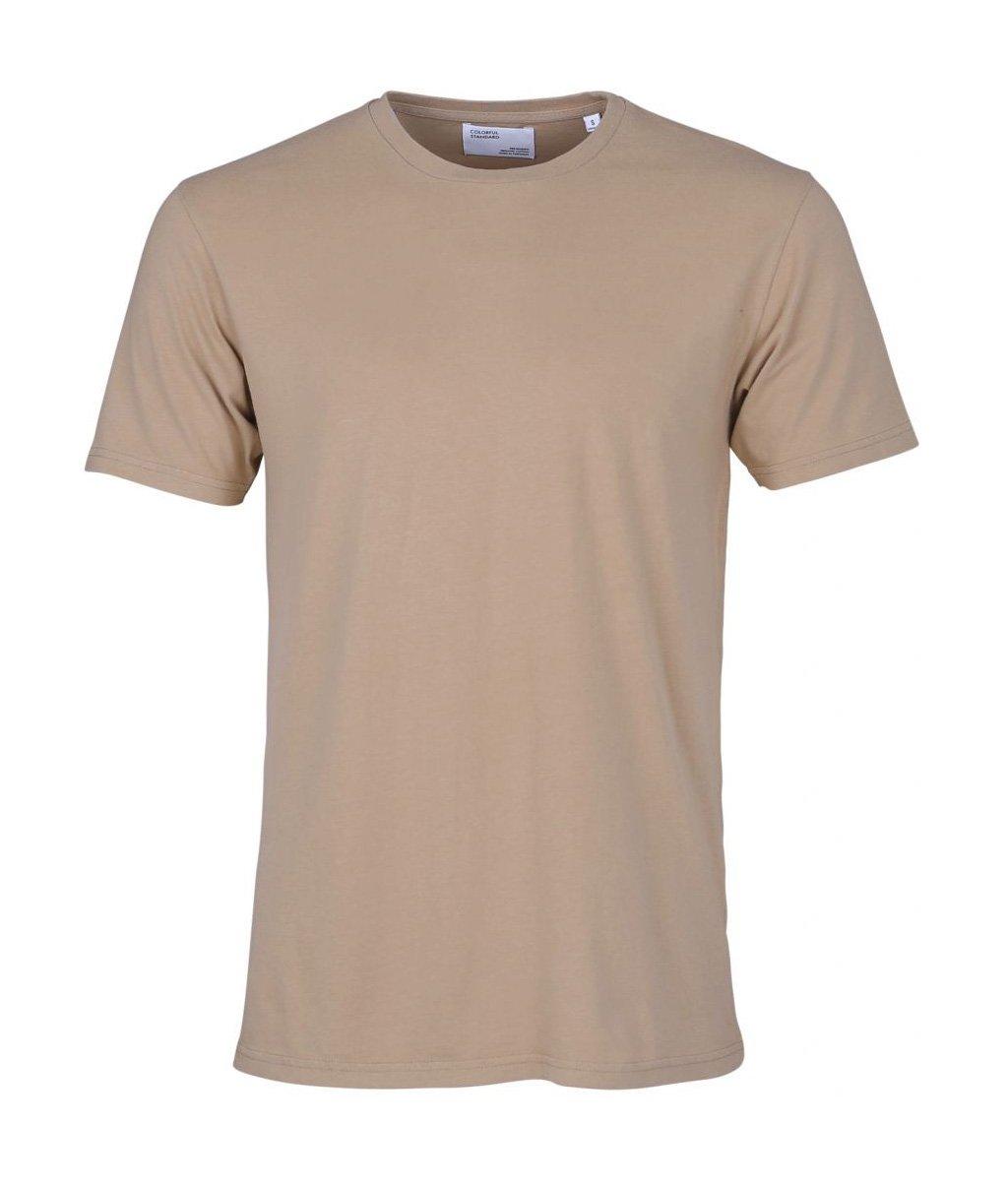 Colorful Standard COLORFUL STANDARD classic organic cotton tee shirt round neck khaki (unisex)