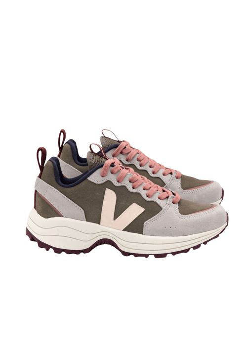 Venturi Suede Kaki Sable Oxford Grey Sneakers