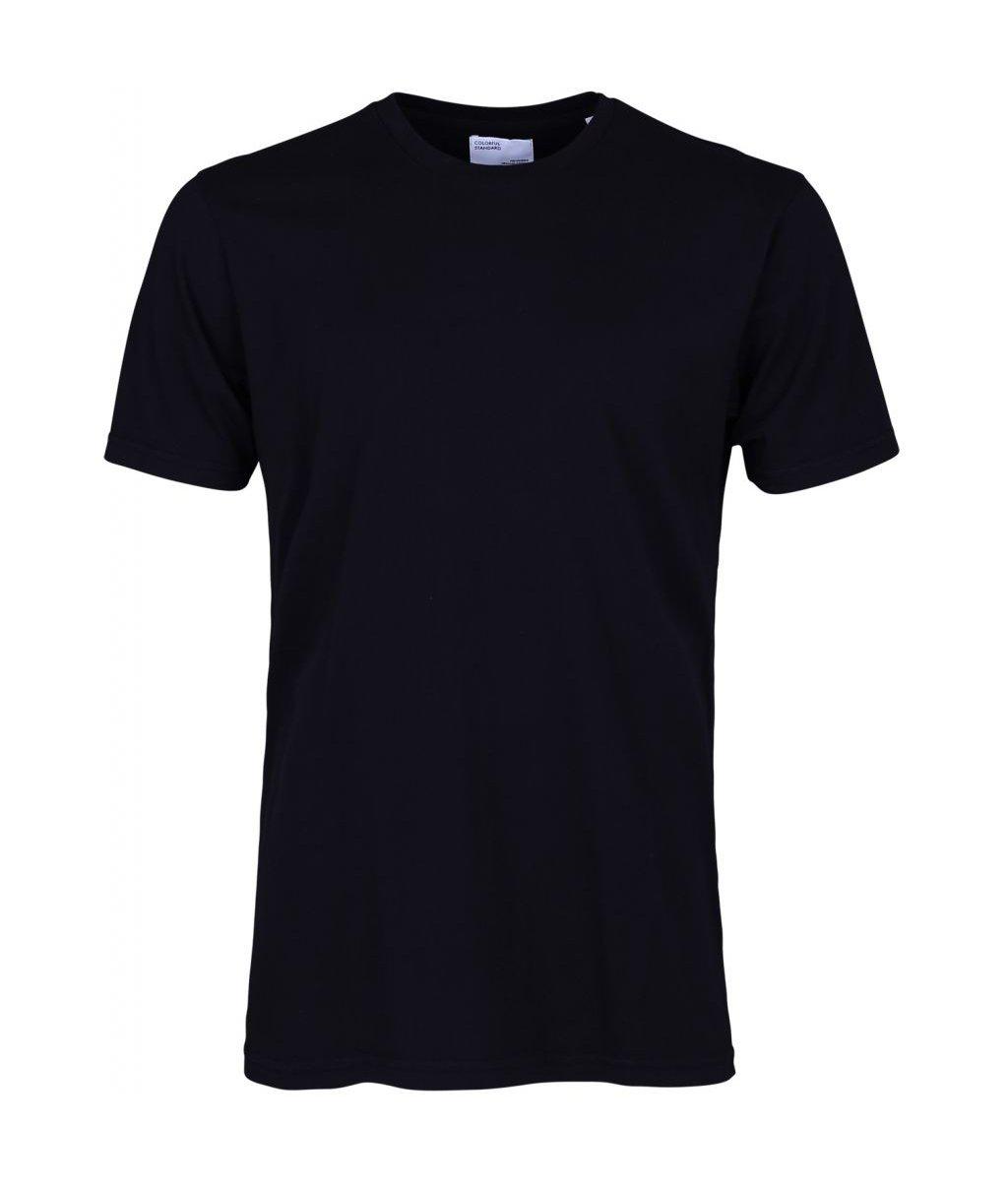Colorful Standard COLORFUL STANDARD classic organic cotton tee shirt round neck deep black (unisex)