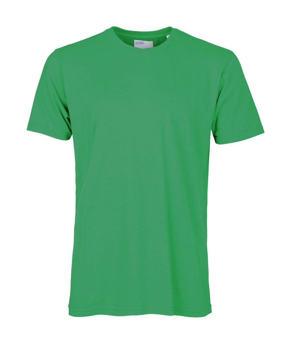 Colorful Standard COLORFUL STANDARD classic organic cotton tee shirt round neck kelly green (unisex)