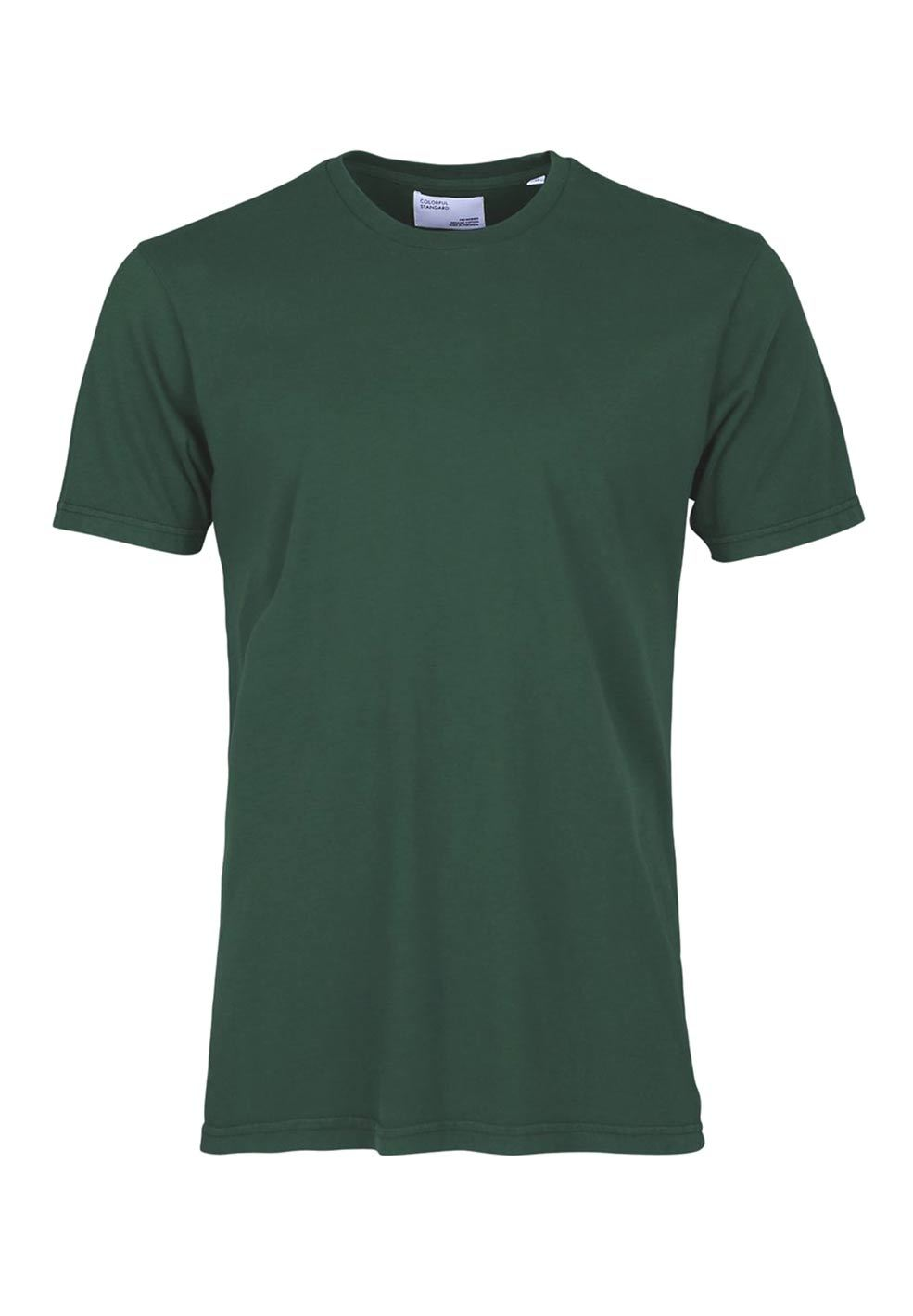 Colorful Standard COLORFUL STANDARD classic organic cotton tee shirt round neck emerald green (unisex)