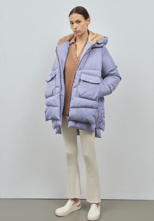 Lyndon Puffer Jacket Lilac