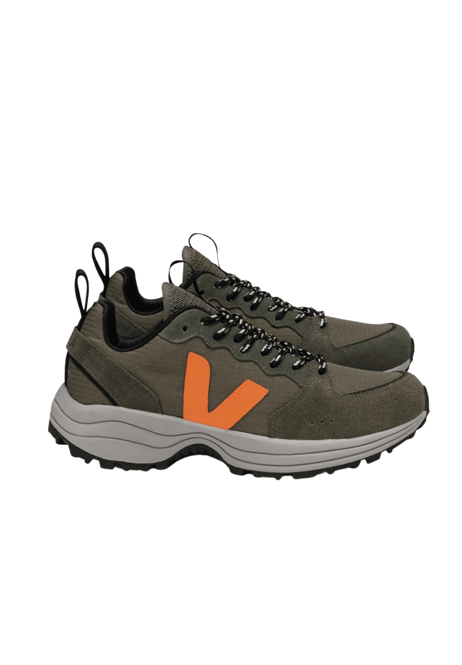 Venturi Ripstop Sneaker Kaki Neon Orange
