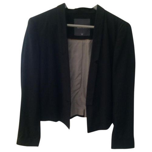 Ekyog Black Cotton Jacket