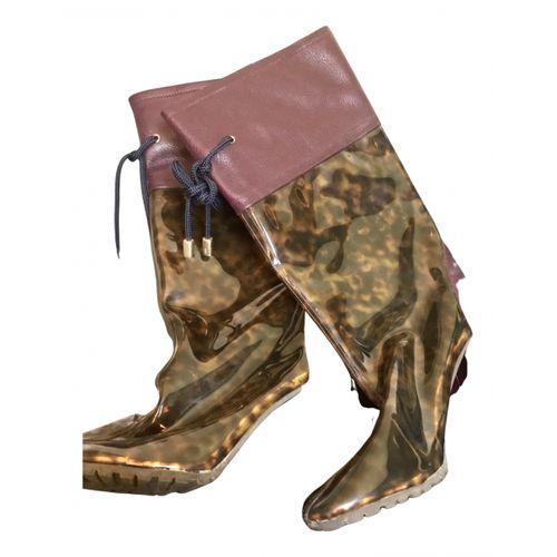 Amélie Pichard Leather boots