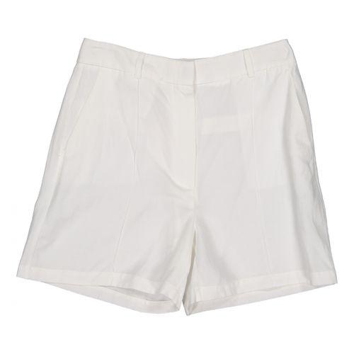 Anine Bing White Cotton Shorts