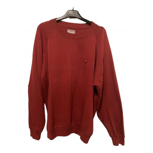 Levi's Red Cotton Knitwear
