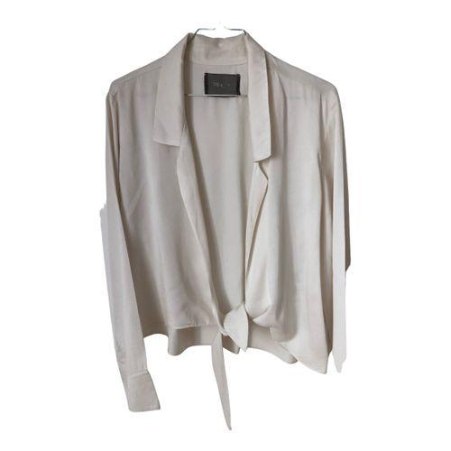Reformation Silk blouse
