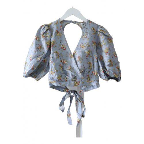 Reformation Linen blouse