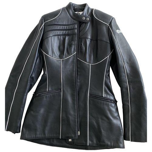 Marine Serre Leather jacket