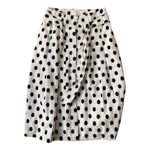 Sézane Spring Summer 2020 mid-length skirt