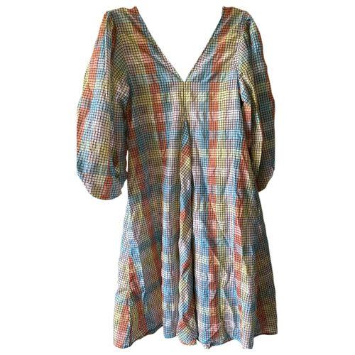 Ganni Spring Summer 2020 mid-length dress