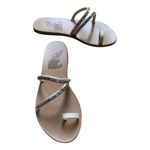 Ancient Greek Sandals Leather mules