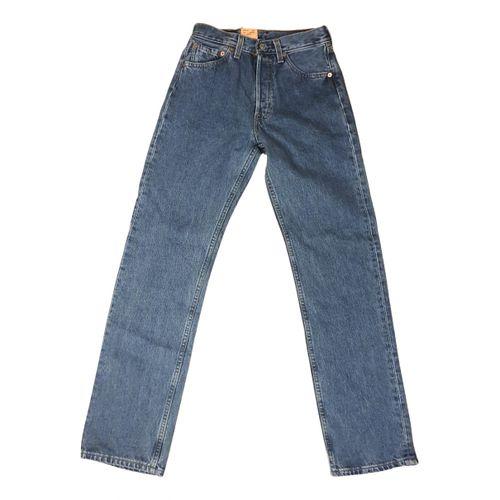 Levi's 501 straight jeans