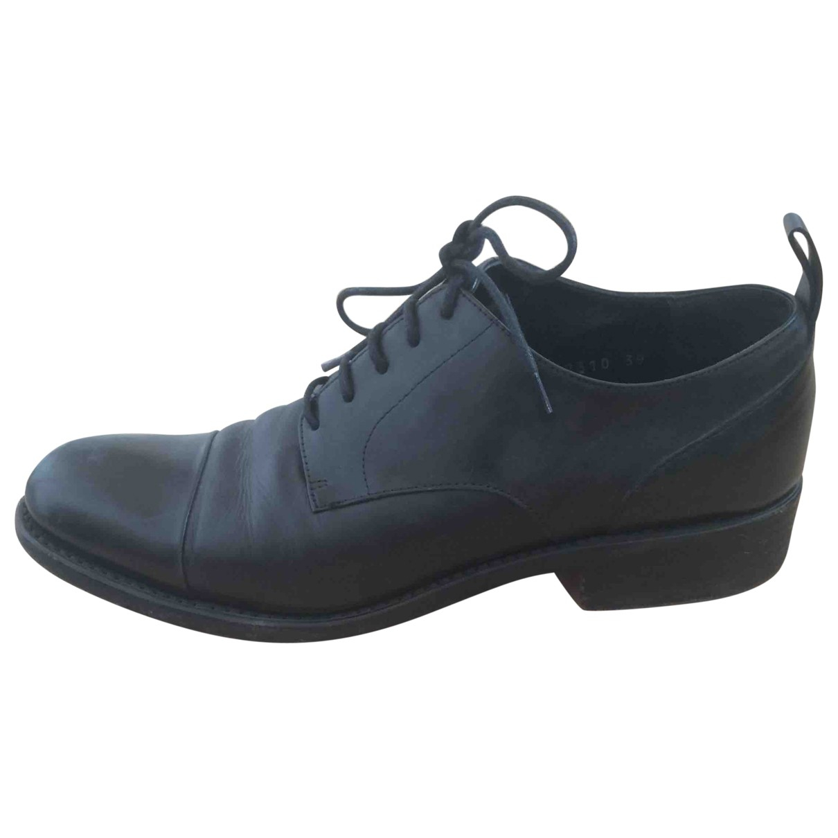 Dries Van Noten Leather lace ups