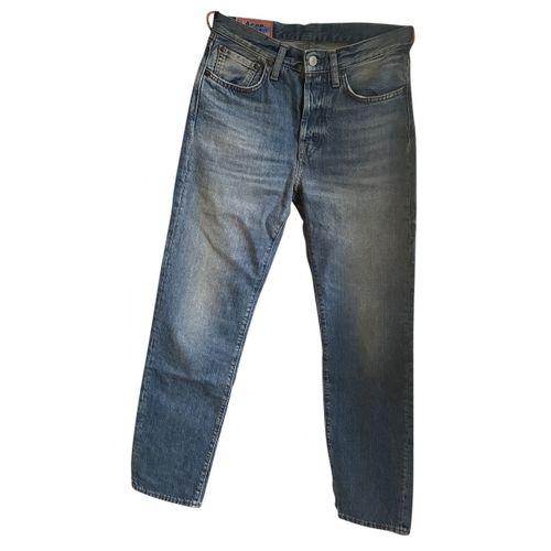 Acne Studios Blå Konst straight jeans
