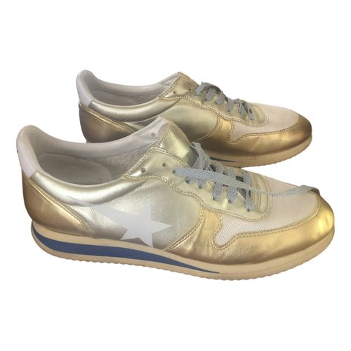 Golden Goose Haus leather trainers