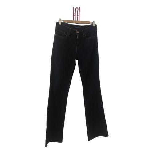 Levi's Blue Cotton - elasthane Jeans