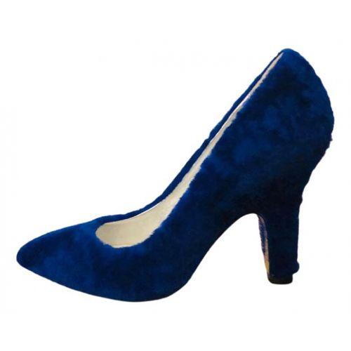 Amélie Pichard Faux fur heels