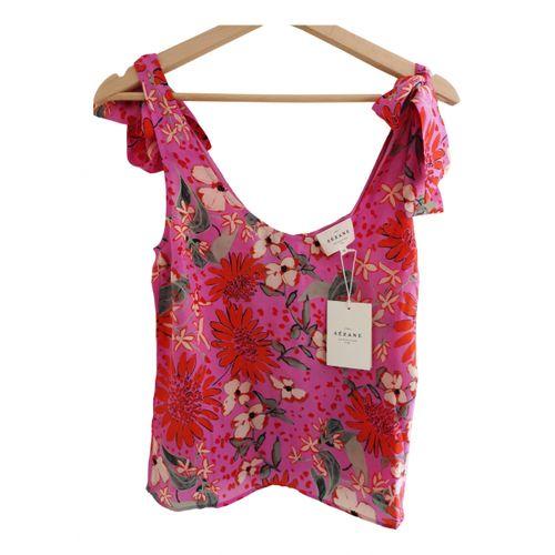 Sézane Spring Summer 2020 silk blouse