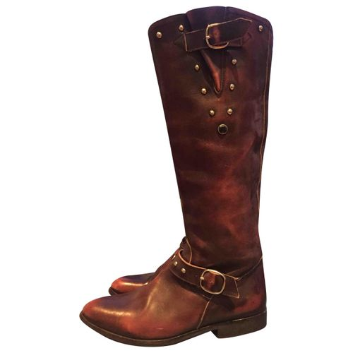 Golden Goose Leather riding boots