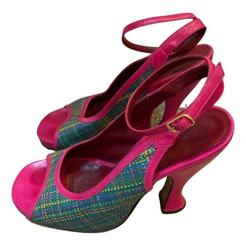 Vivienne Westwood Cloth sandals