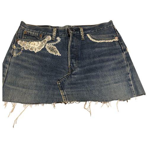 Levi's Glitter mini skirt