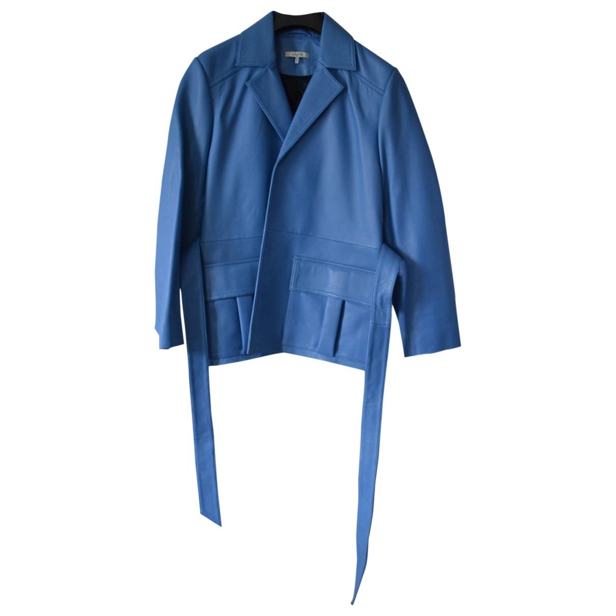 Ganni Leather jacket