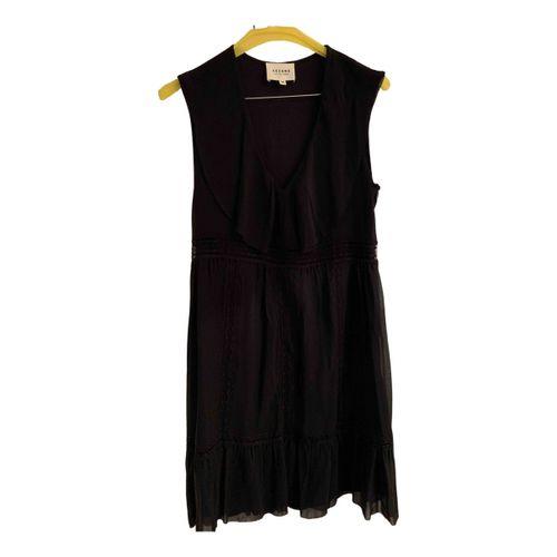 Sézane Silk mid-length dress