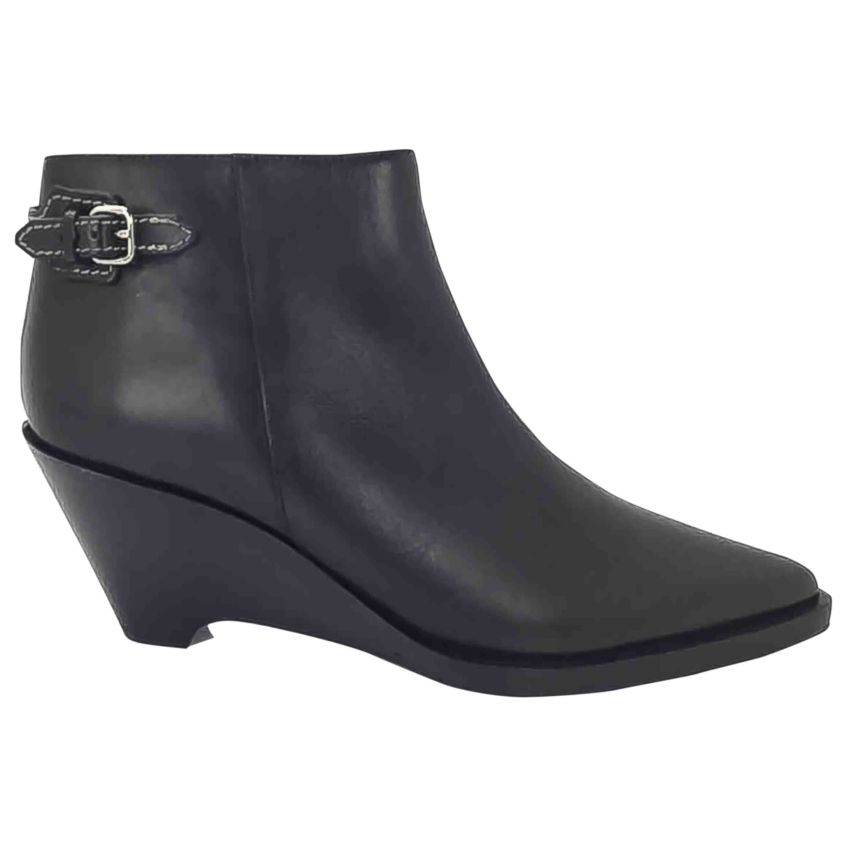Acne Studios Leather western boots