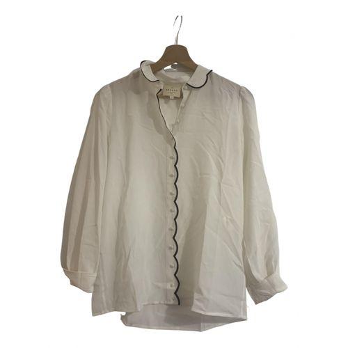 Sézane Fall Winter 2019 silk shirt