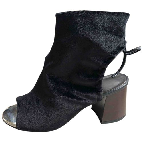 by Malene Birger Leather open toe boots