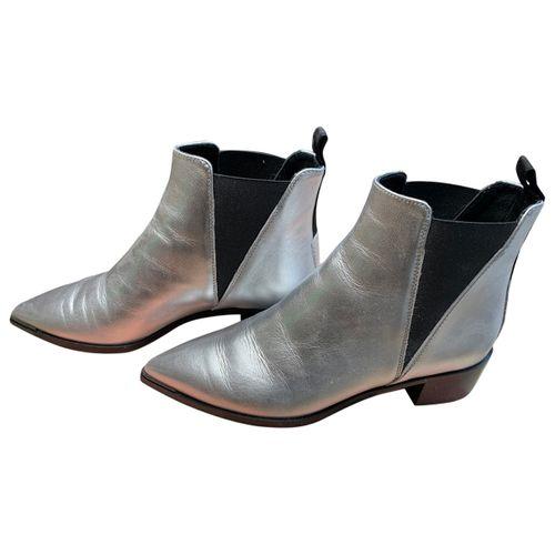 Acne Studios Jensen / Jenny leather western boots