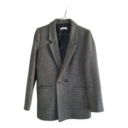 Anine Bing Green Polyester Jacket