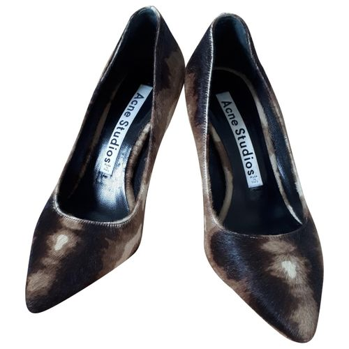 ACNE Acne Studios Pony-style calfskin heels