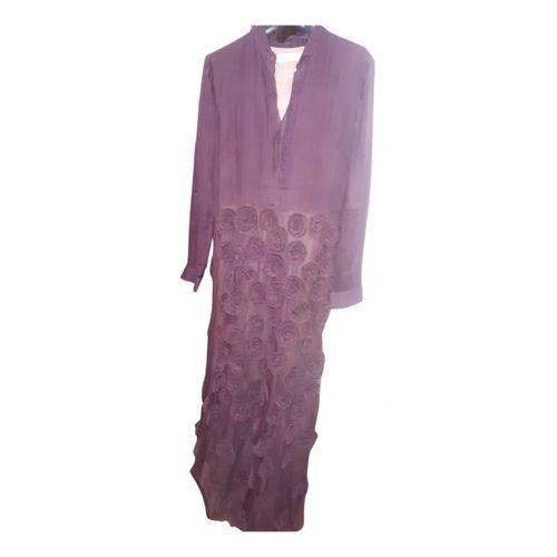 Golden Goose Silk maxi dress
